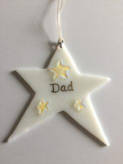 Dad star hanger