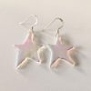 Dichroic Glass Star Earrings